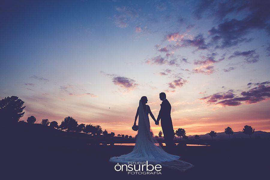 Onsurbe Fotografía boda Irina y José Luis en Retamares Casino Club de Golf