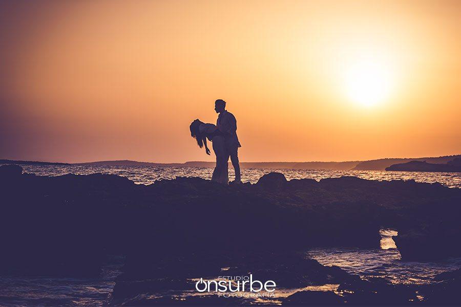 Reportaje de preboda en Menorca, una isla pasional