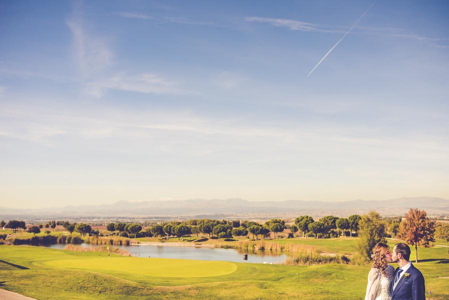 Boda en club de golf Suites Retamares